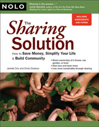 The Sharing Solution, by Janelle Orsi
