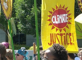 Climate Justice Contingent