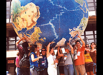 """""""One World in which Many Worlds Fit."""""""