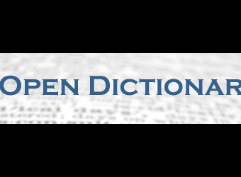New Open Dictionary For Kids