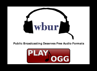 Public Broadcasting:  Move to Free Audio Formats!